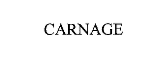 mark for CARNAGE, trademark #76224953
