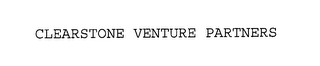 mark for CLEARSTONE VENTURE PARTNERS, trademark #76227213