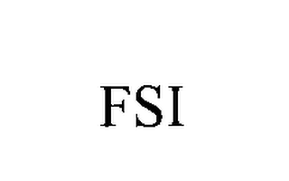 mark for FSI, trademark #76227446