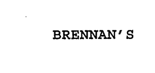 mark for BRENNAN'S, trademark #76227687