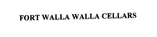 mark for FORT WALLA WALLA CELLARS, trademark #76228099
