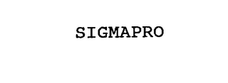 mark for SIGMAPRO, trademark #76228880