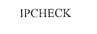 mark for IPCHECK, trademark #76229831