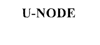 mark for U-NODE, trademark #76230241