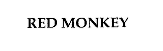 mark for RED MONKEY, trademark #76230359