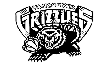 mark for VANCOUVER GRIZZLIES, trademark #76230585