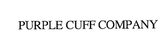 mark for PURPLE CUFF COMPANY, trademark #76232162