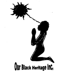 mark for OUR BLACK HERITAGE INC., trademark #76233030