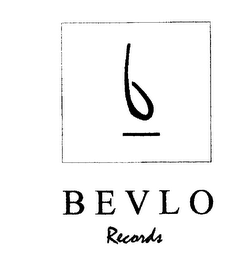 mark for BEVLO RECORDS B, trademark #76233732