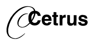 mark for C CETRUS, trademark #76233796