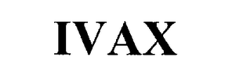mark for IVAX, trademark #76237917
