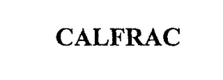 mark for CALFRAC, trademark #76238196