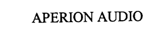 mark for APERION AUDIO, trademark #76238898