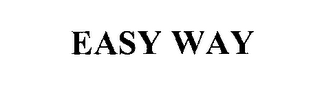 mark for EASY WAY, trademark #76240027