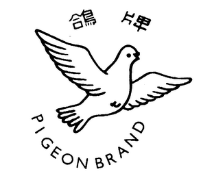 mark for PIGEON BRAND, trademark #76240361