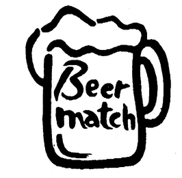 mark for BEER MATCH, trademark #76240362