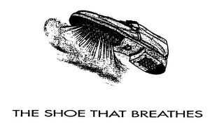 mark for THE SHOE THAT BREATHES, trademark #76240427