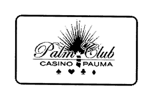 mark for PALM CLUB, trademark #76241249