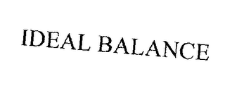 mark for IDEAL BALANCE, trademark #76241457