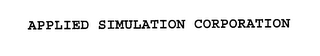mark for APPLIED SIMULATION CORPORATION, trademark #76241615