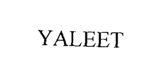 mark for YALEET, trademark #76243105