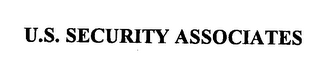 mark for U.S. SECURITY ASSOCIATES, trademark #76243592