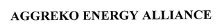 mark for AGGREKO ENERGY ALLIANCE, trademark #76246148