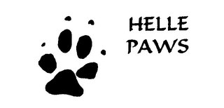 mark for HELLE PAWS, trademark #76246674