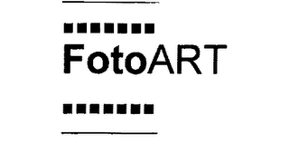 mark for FOTOART, trademark #76246981