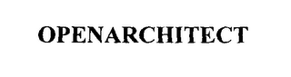 mark for OPENARCHITECT, trademark #76247672