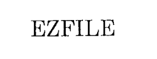 mark for EZFILE, trademark #76247813
