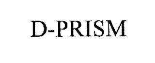 mark for D-PRISM, trademark #76248127