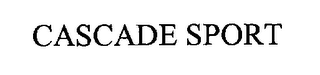 mark for CASCADE SPORT, trademark #76250417