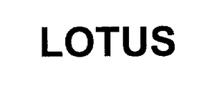 mark for LOTUS, trademark #76250577