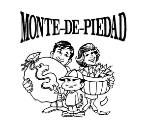 mark for MONTE-DE-PIEDAD, trademark #76250924