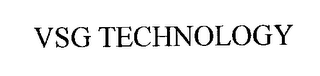 mark for VSG TECHNOLOGY, trademark #76252070