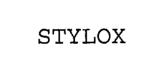 mark for STYLOX, trademark #76253264