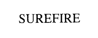mark for SUREFIRE, trademark #76254499