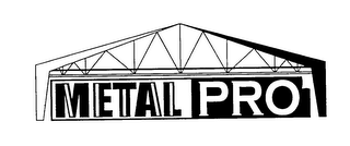 mark for METALPRO, trademark #76256171