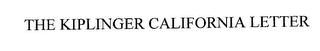 mark for THE KIPLINGER CALIFORNIA LETTER, trademark #76256430