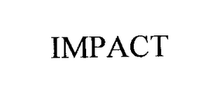 mark for IMPACT, trademark #76257044