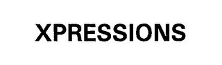 mark for XPRESSIONS, trademark #76258205