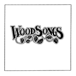 mark for WOODSONGS, trademark #76259208