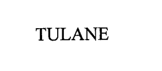 mark for TULANE, trademark #76260290