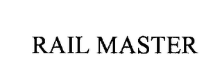 mark for RAIL MASTER, trademark #76261377
