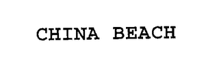 mark for CHINA BEACH, trademark #76263413