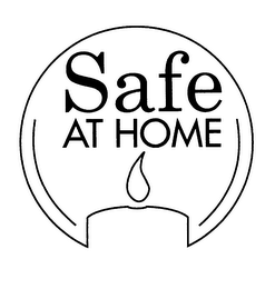 mark for SAFE AT HOME, trademark #76263696
