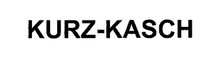 mark for KURZ-KASCH, trademark #76264080