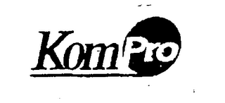 mark for KOMPRO, trademark #76264350
