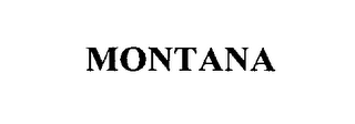 mark for MONTANA, trademark #76264975